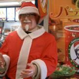 KFC Japan celebrating Christmas
