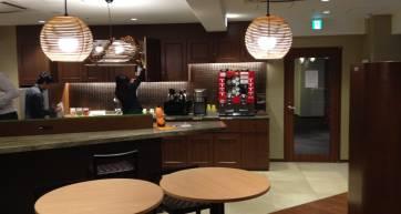 Compass Habitat's shared kitchen