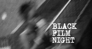 Photo from Black Film Night's Facebook page.