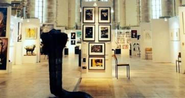 Image from the event's website. Whether a cheapo can afford art is maybe something the event organisers didn't consider when they contacted us.