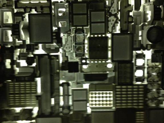 Cheapo Art in Roppongi - Recycled Art at Roppongi Art Night 2012