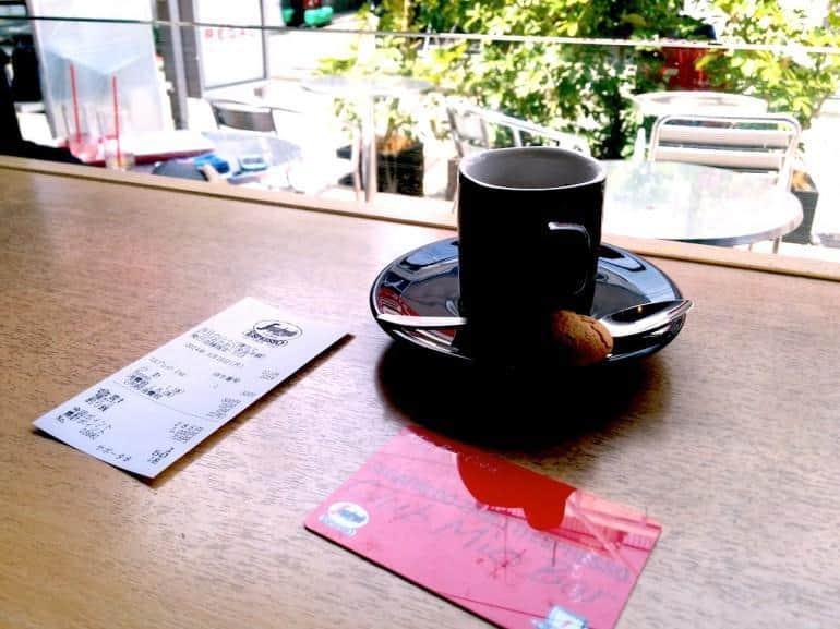 segafredo expresso cup