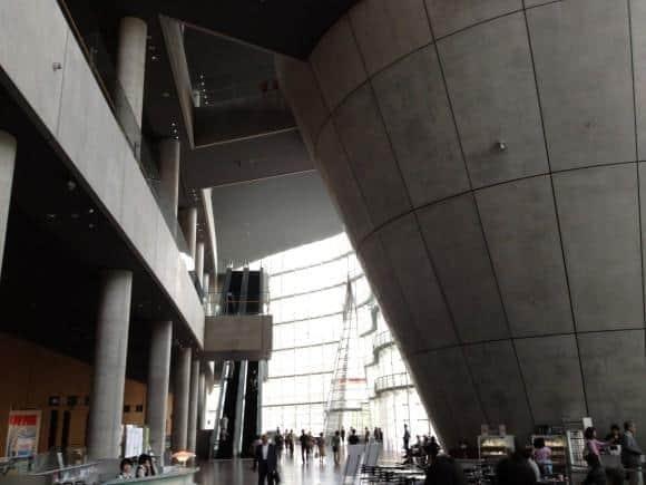 The Atrium of the National Art Center, Tokyo