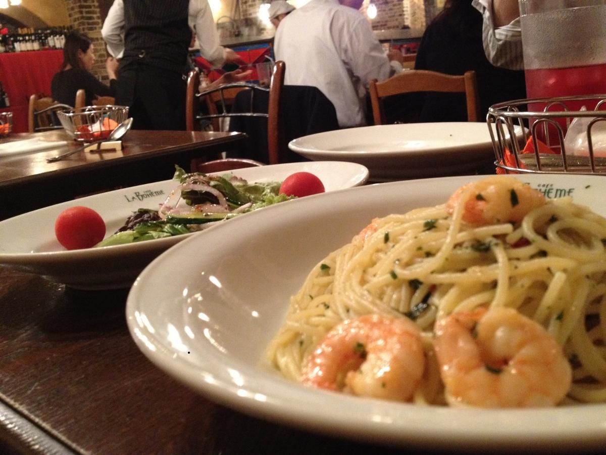 Cheapo Eats: La Boheme - Japanese style Italian pasta