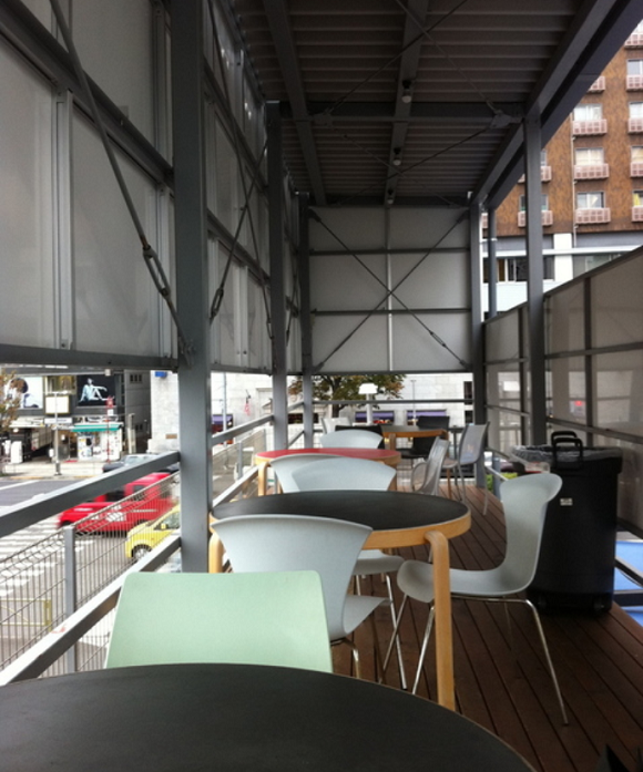 A (Shipping Container) With a View: Pop-Up @Aoyama