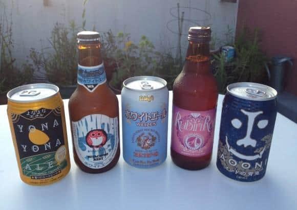 Japanese Craft Beers
