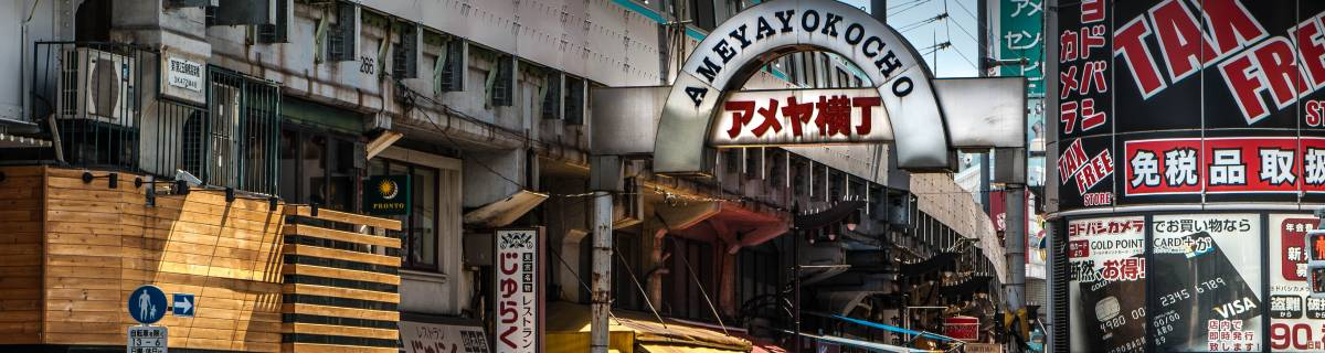 Ameya-Yokocho: Tokyo's Last Black Market, Kinda