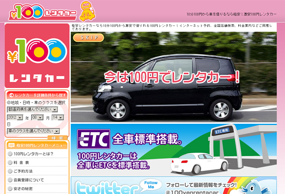 100yen-Rent-a-Car: The Cheapest Ride in Tokyo*