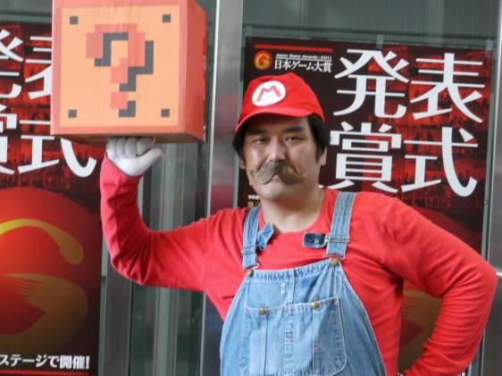 Mario at Tokyo Game show