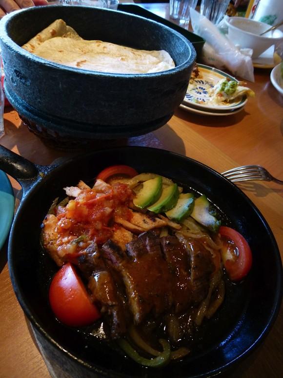 Fajitas, Mexican food, lunch, Ikebukuro, Sunshine City