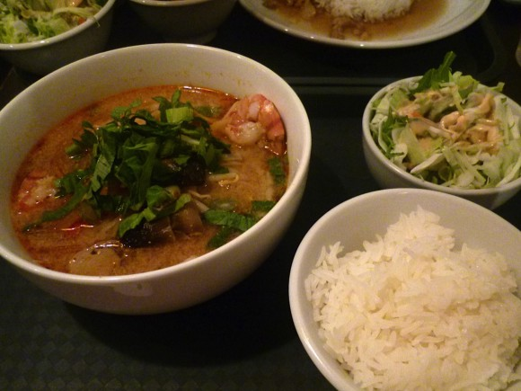 Tom Yum soup, Thai, Thai noodles