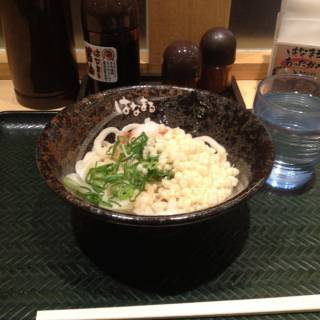 Sanuki Udon Hanamaru - A Sit-down Meal for 105yen