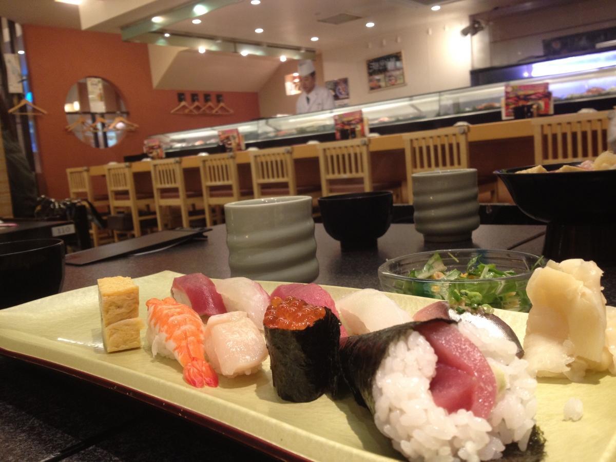 Cheapo Sushi: Sushizanmai