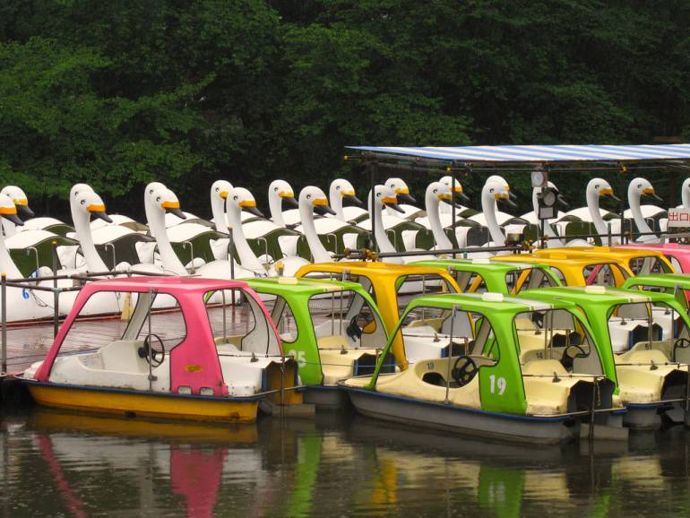Inokashira boats