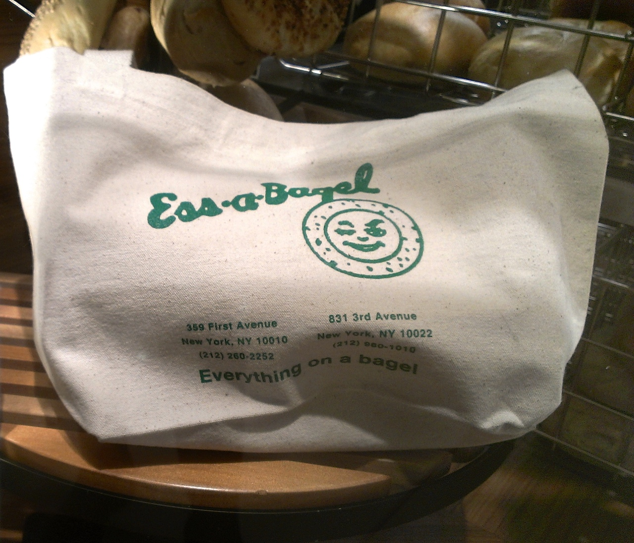 First Ever Ess-A-Bagel in Japan