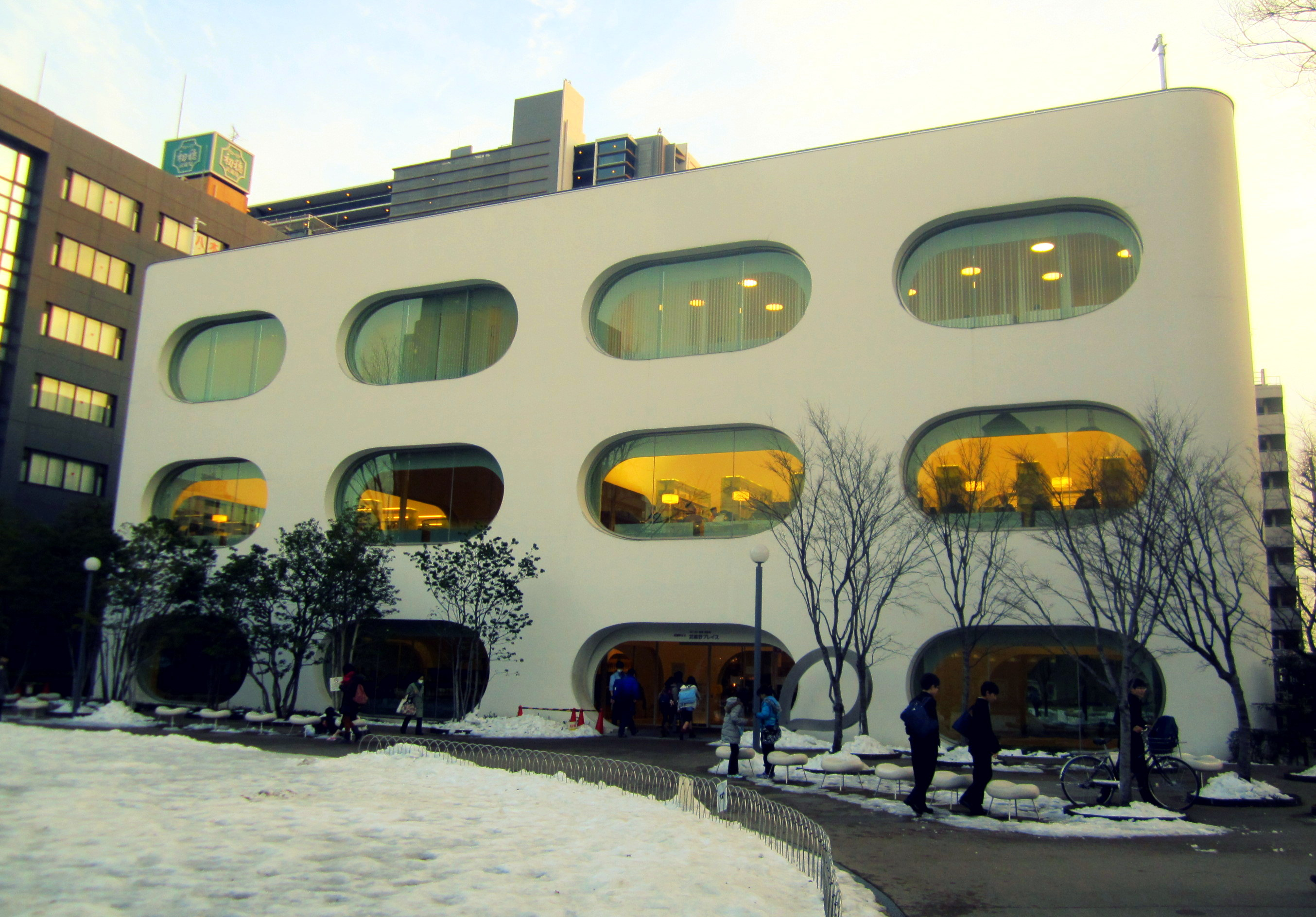 Musashino Place, a Chic Library with a Soundproof Basement for all Ages