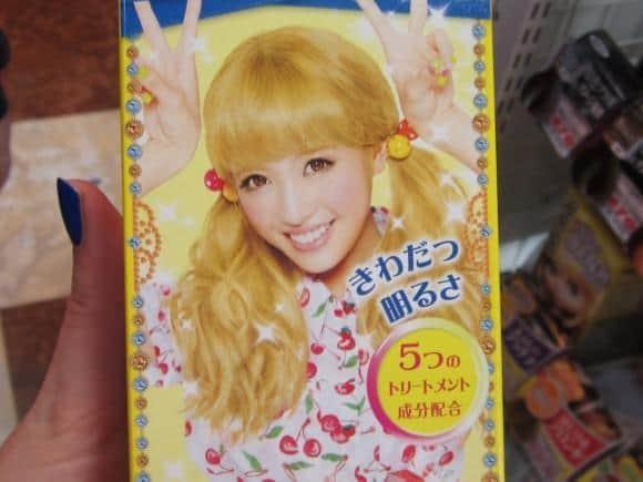 Becoming Blonde Japanese Hair Dye Tokyo Cheapo