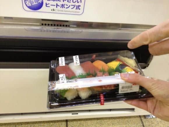 sushi kun cheap sushi vending machine tokyo cheapo. Black Bedroom Furniture Sets. Home Design Ideas