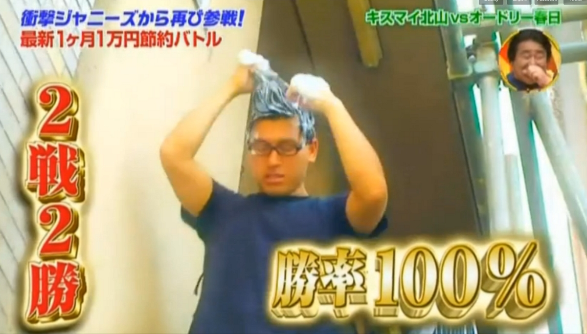 Setsuyaku Battle - Two Japanese Celebrities Battle it out to Live on Less than 10,000yen ($US100) for a Whole Month