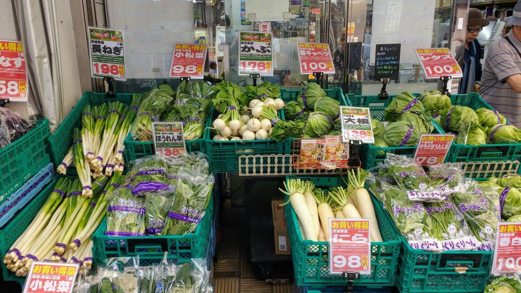 Cheap Vegetables sustainable travel