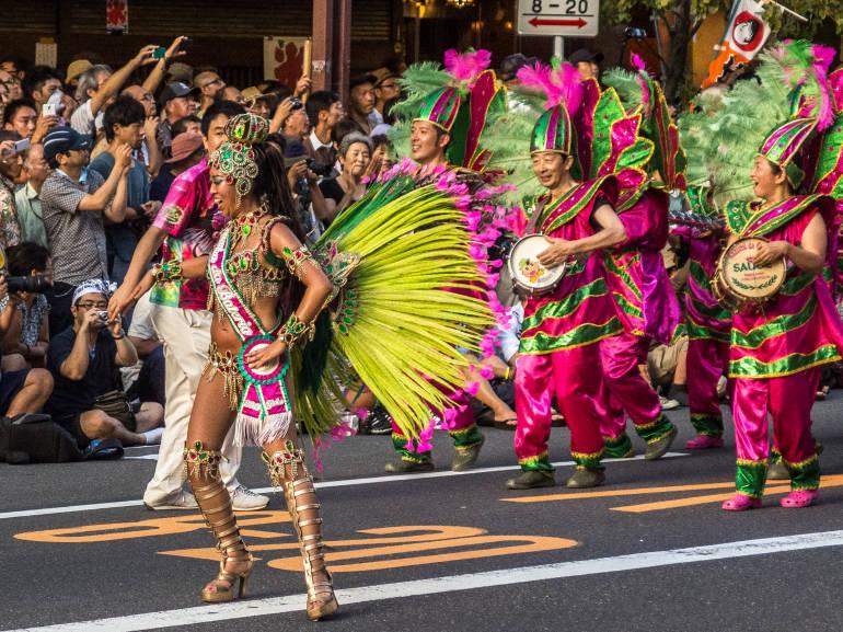 cultural neighborhoods in Tokyo