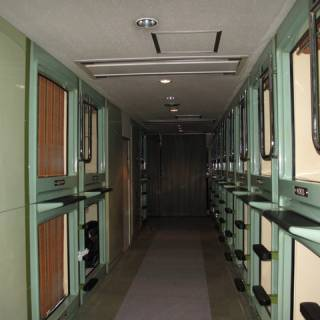 Tokyo Hostels: Capsule Hotel Riverside, Asakusa