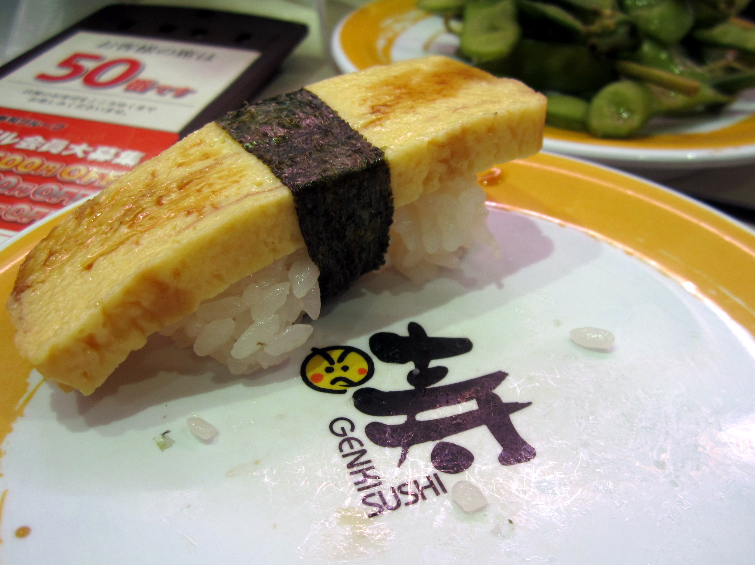 Genki Sushi - Fresh, Cheap, and in English!