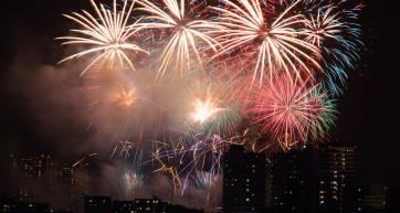 fireworks tokyo