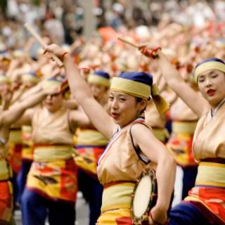 """The Yosakoi"" Oedo Soran Festival"