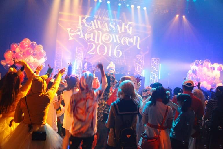 Celebración de Halloween en la ciudad de Kawasaki (Foto: Greg Lane)