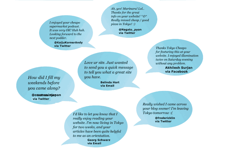 reader feedback