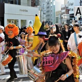 Omotesando Halloween Pumpkin Parade