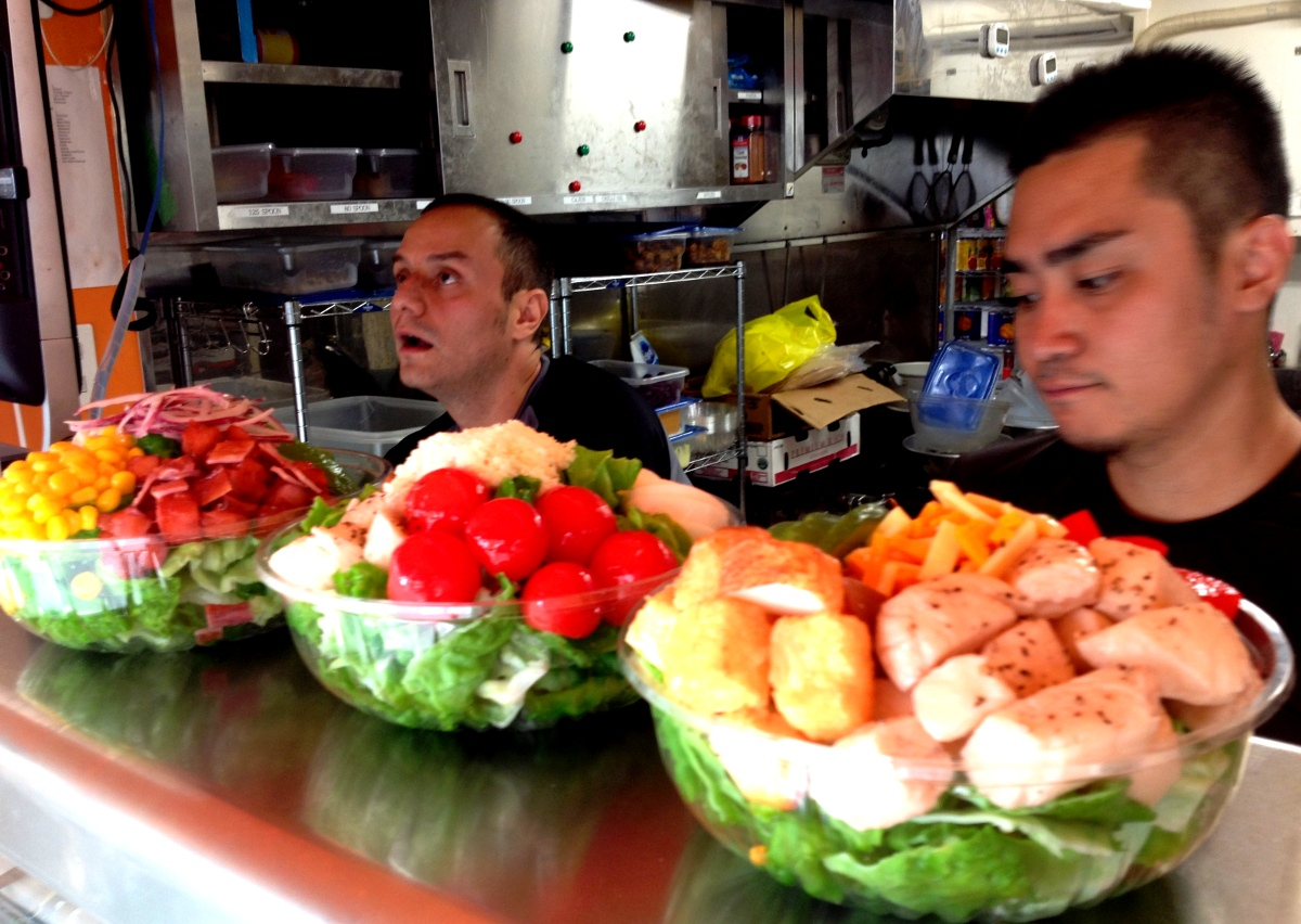 Happy Salada - Mountainous, Tasty Salads in Akasaka