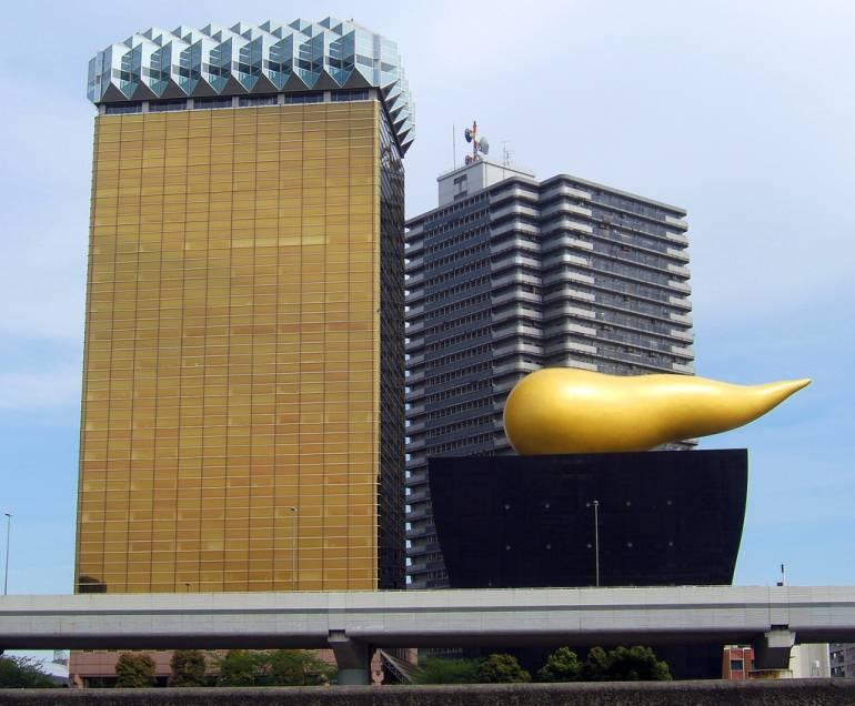 Golden turd of Asahi things to do in asakusa