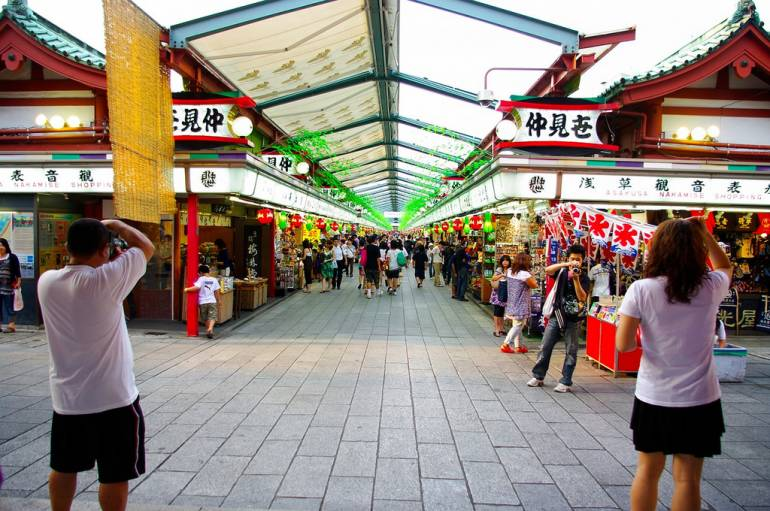 Nakamise-dori things to do in asakusa
