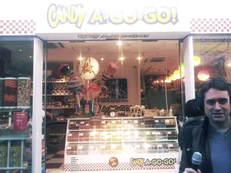 candy shop on takeshita dori
