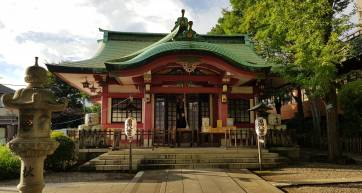 Ichigaya Kamegaoka Hachimangu main prayer hall