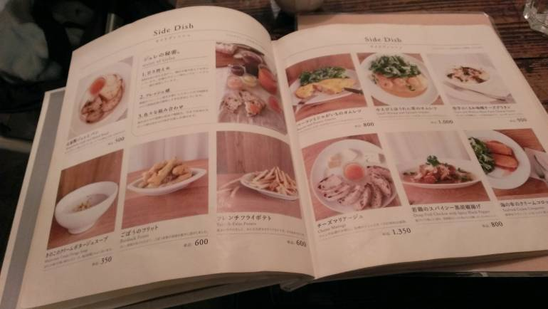 Hefty Menu, Lots of Choices Beyond the Set