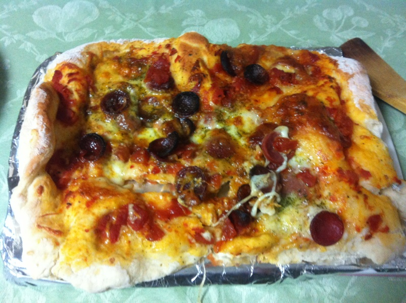 Easy Recipes for Homesick Gaijin, Part 1: Pizza