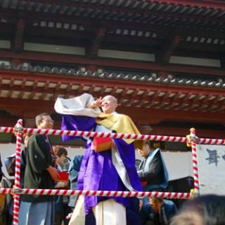 Setsubun Mamemaki (Bean throwing) Festival