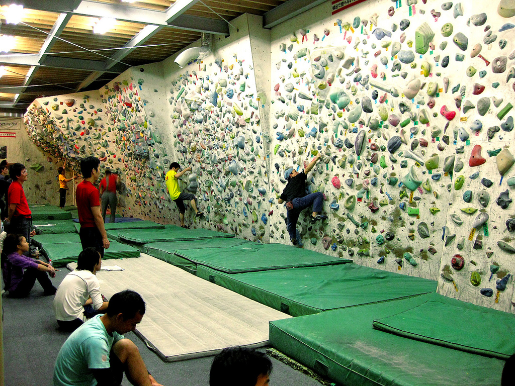 Top 5 Cheapo Indoor Climbing Spots