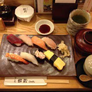 Ginzo Sushi - Gimmick-free Sushi for a Reasonable Price