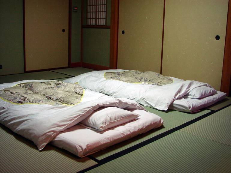 Generic tatami-style room. Pic by egg on stilts, used under a Creative Commons Licence.