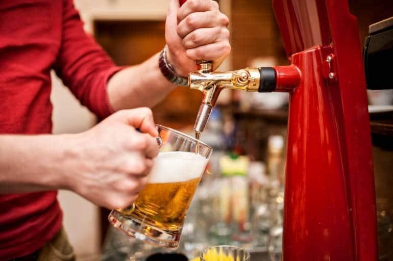 Beer image via Shutterstock.