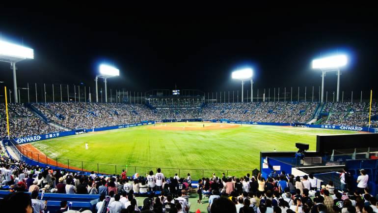 baseball jingu stadium