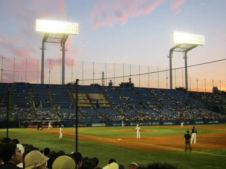 jingu stadium baseball