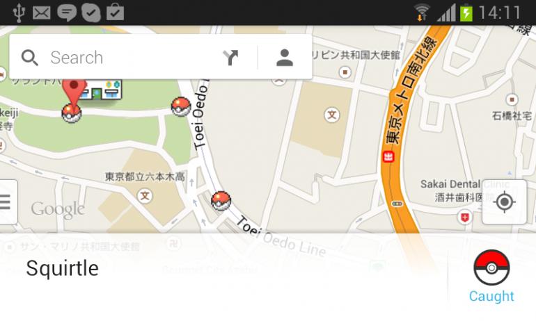 Where are the Pokémon in Google Maps Tokyo? | Tokyo Cheapo