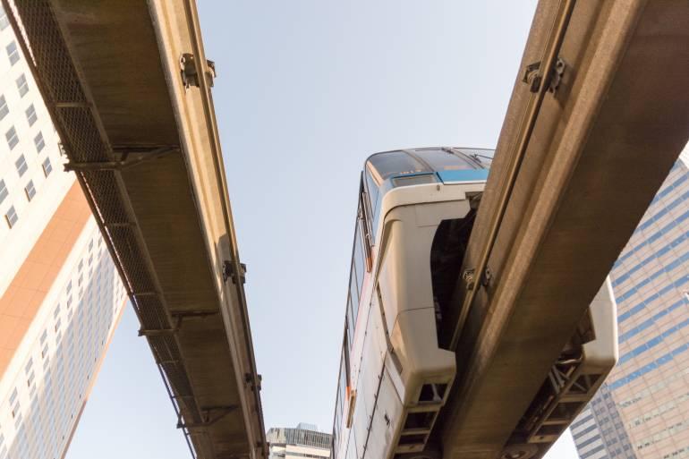 Haneda Airport to Tokyo Transport- Tokyo Monorail
