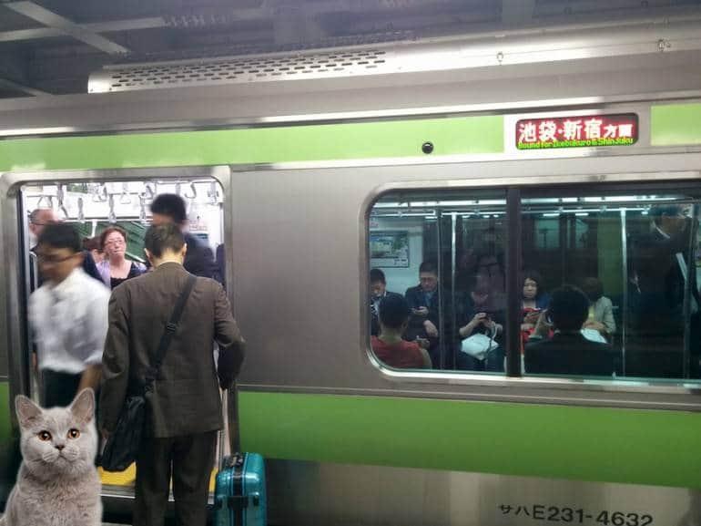 yamanote train