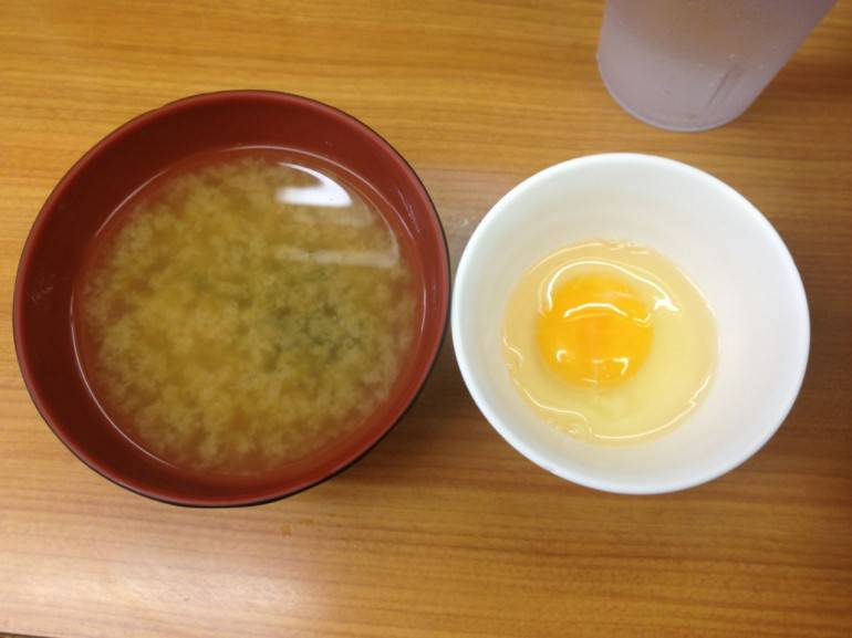 Miso Soup and Egg